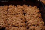 Mincemeat and oat squares