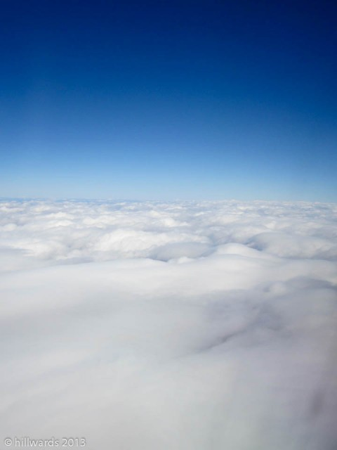 Clouds from an airoplane